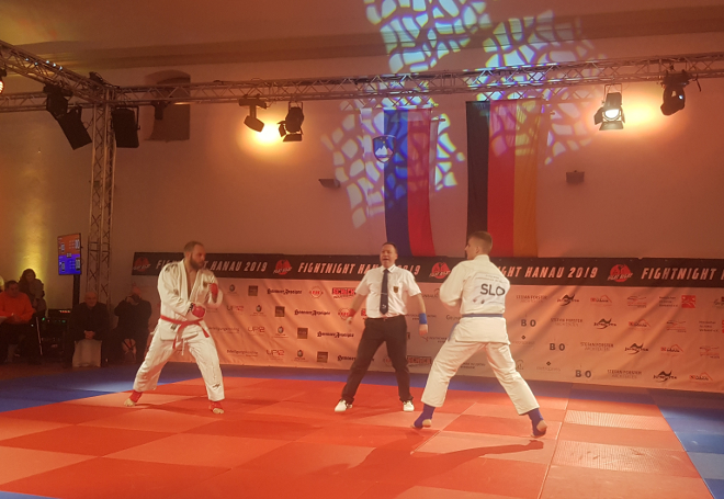 team ju jitsu fight Slovenija vs Nemčija Frankfurt 2019